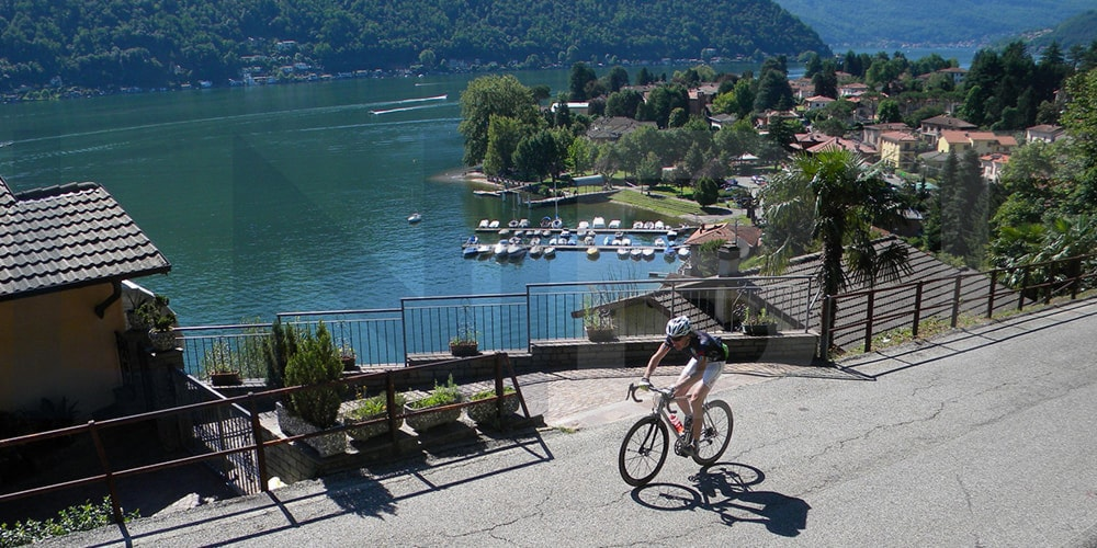 Cycling holiday Lake Lugano