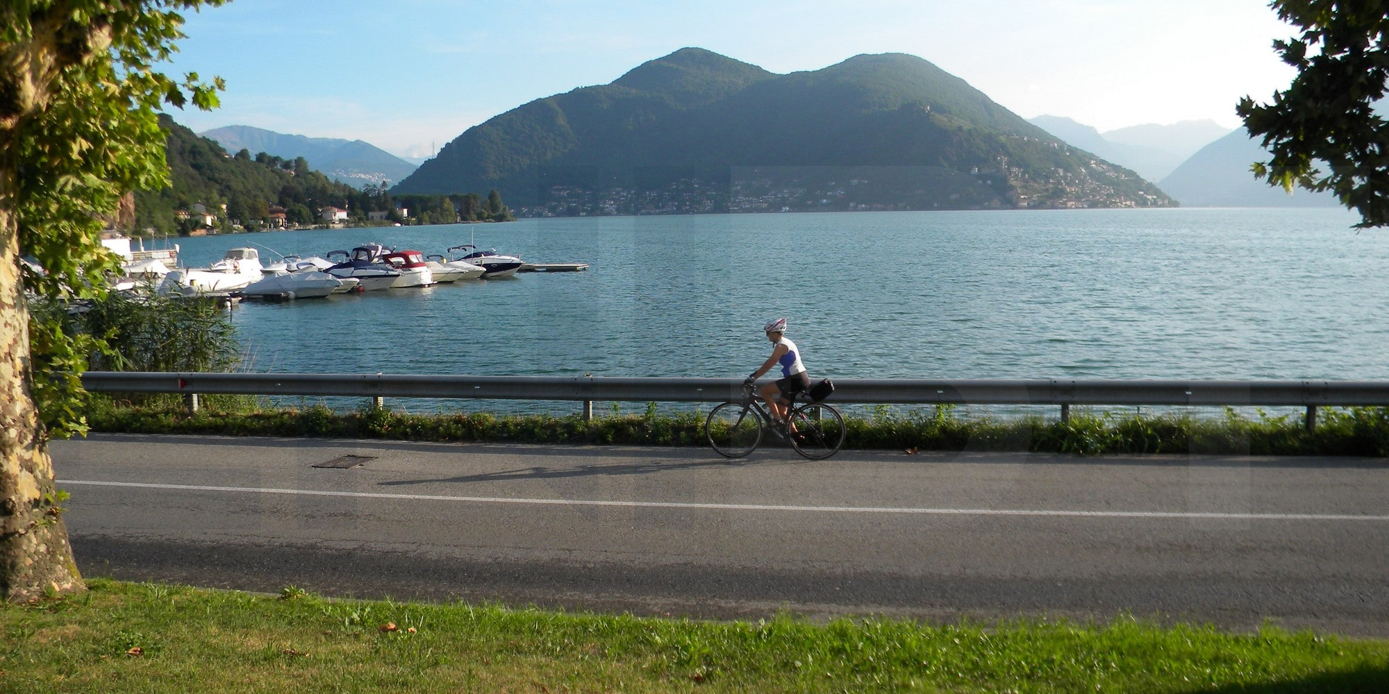 gentle cycling experience Lake Maggiore