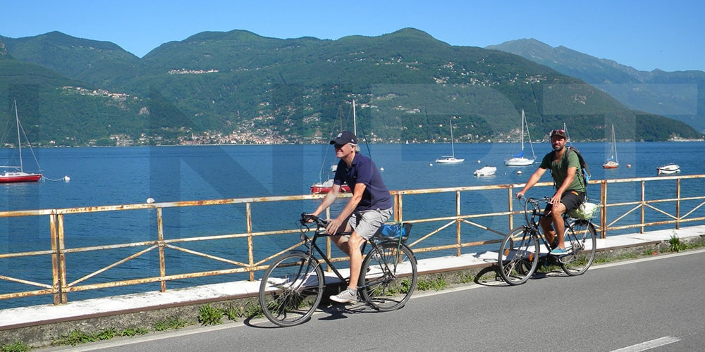 gentle cycling tour northern italian lakes