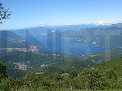 Road cycling routes Northern Italian Lakes - Lake Maggiore, Luino, Monte Rosa