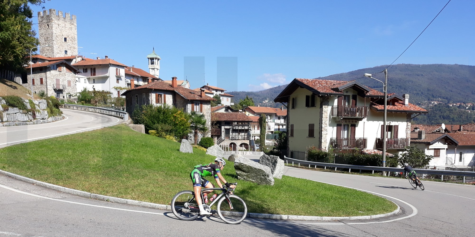 Cycling holiday in Northern Italian Lakes - Mesenzana